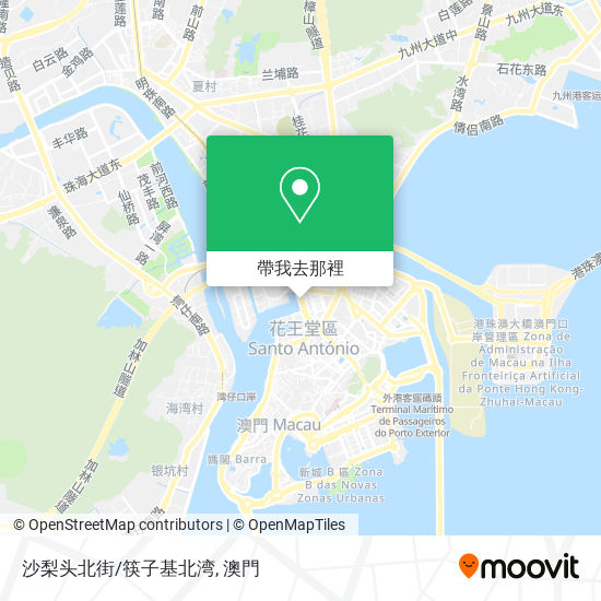 沙梨头北街/筷子基北湾地圖