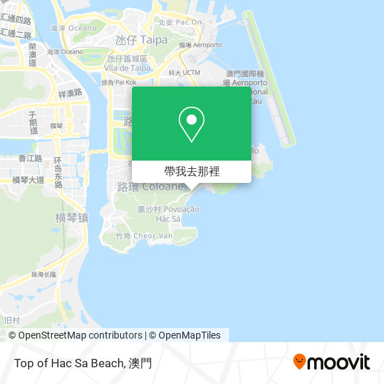 Top of Hac Sa Beach地圖
