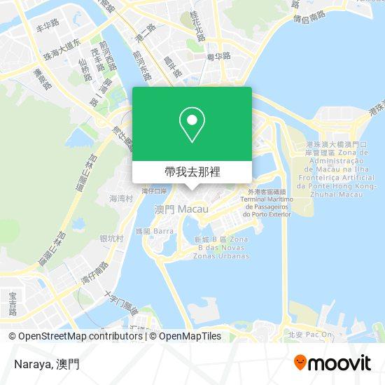 Naraya地圖