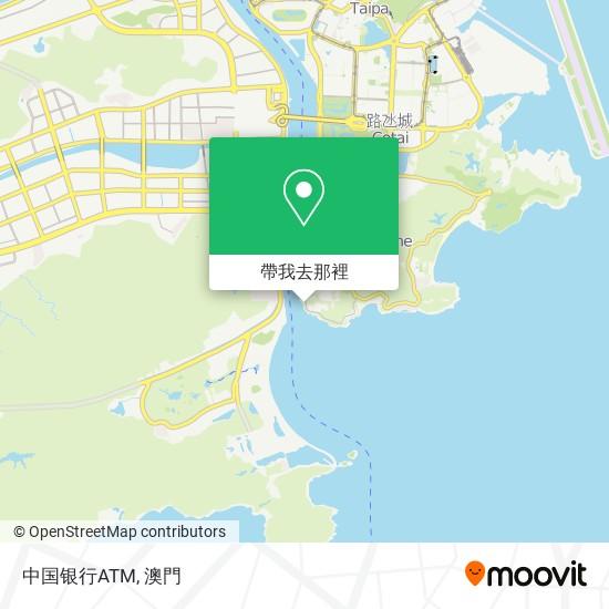 中国银行ATM地圖
