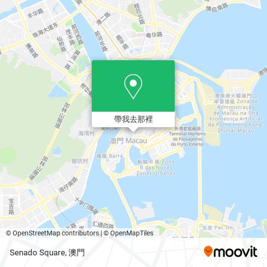 Senado Square地圖