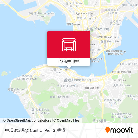中環3號碼頭 Central Pier 3地圖