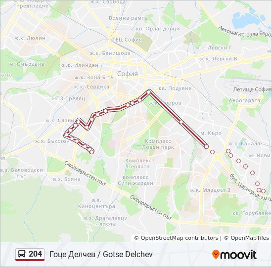 204 Marshrut Vremevi Grafici Spirki I Karti Zh K Goce Delchev