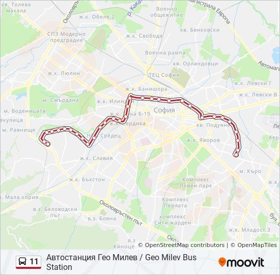 11 Marshrut Vremevi Grafici Spirki I Karti Avtostanciya Geo