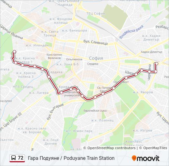 72 Marshrut Vremevi Grafici Spirki I Karti Gara Poduyane