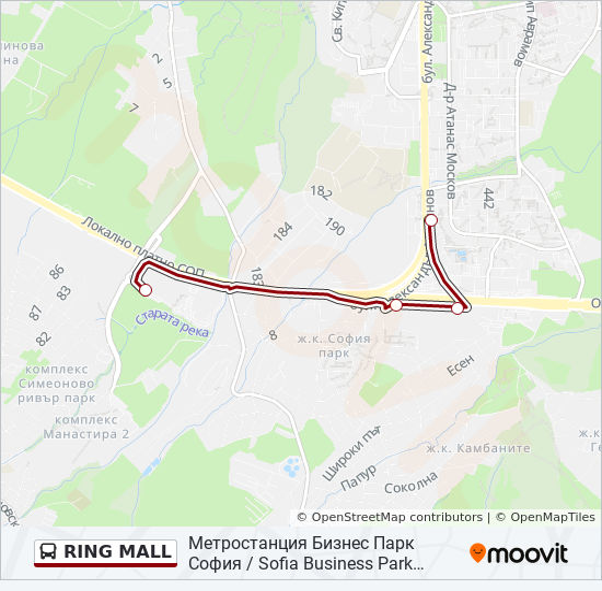 Ring Mall Marshrut Vremevi Grafici Spirki I Karti Ring Mol