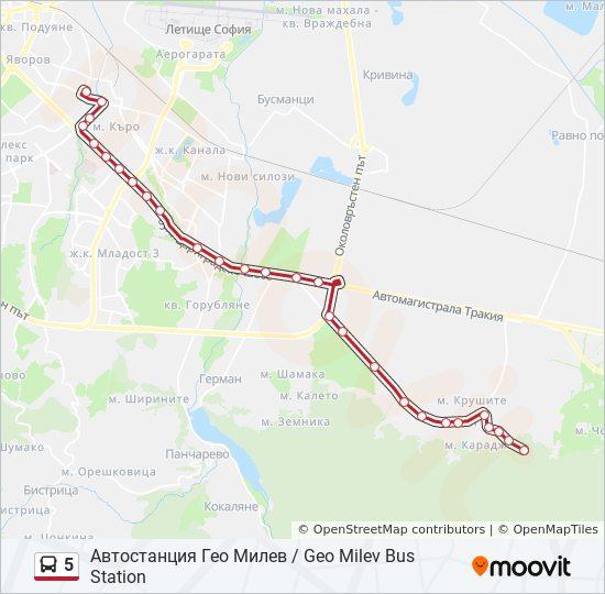 5 Marshrut Vremevi Grafici Spirki I Karti Avtostanciya Geo Milev