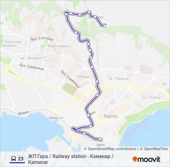 23 Marshrut Vremevi Grafici Spirki I Karti Zhp Gara Railway
