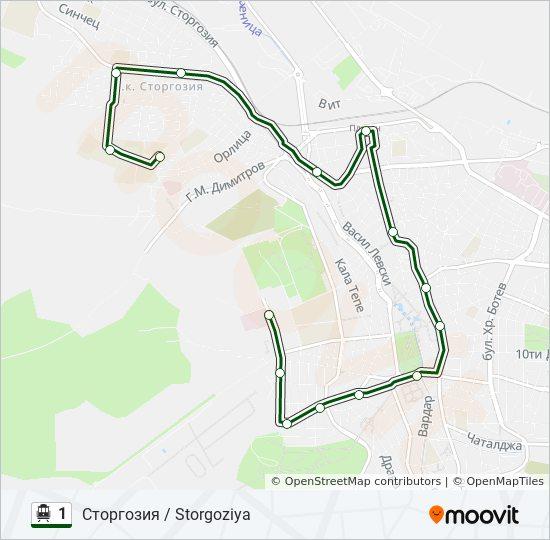 1 Marshrut Vremevi Grafici Spirki I Karti Storgoziya Storgoziya