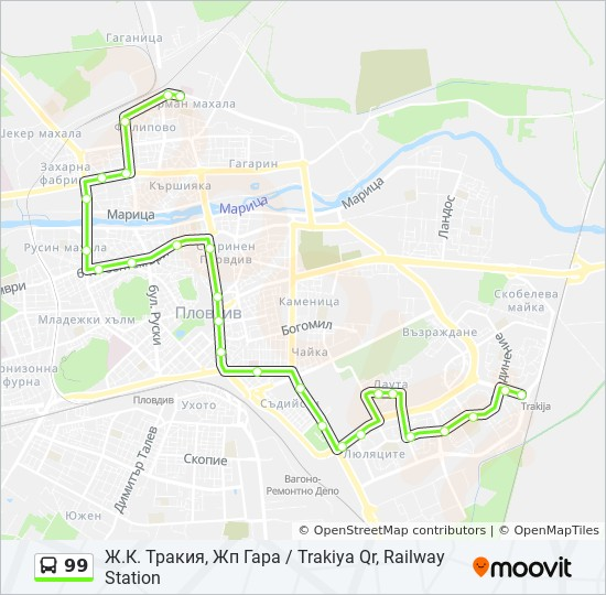 99 Marshrut Vremevi Grafici Spirki I Karti Tk Marica Maritsa