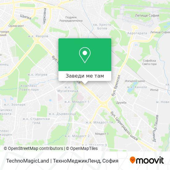 TechnoMagicLand | ТехноМеджикЛенд карта