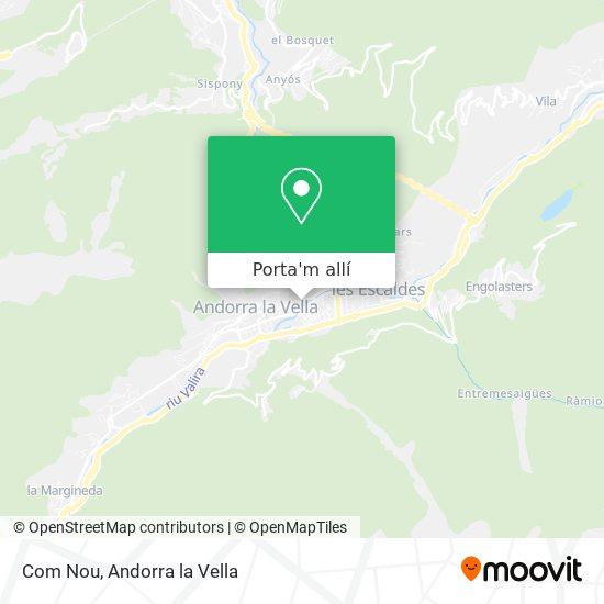 mapa Com Nou