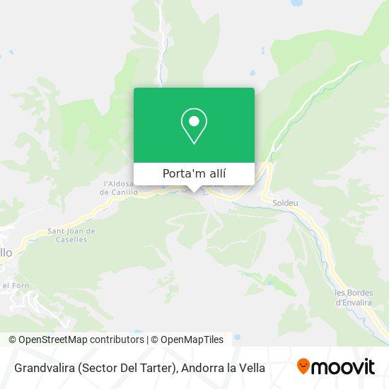 mapa Grandvalira (Sector Del Tarter)