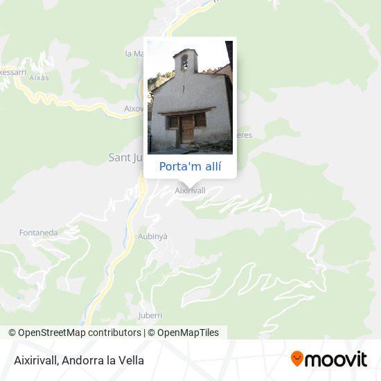 mapa Aixirivall