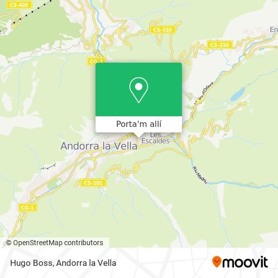 mapa Hugo Boss