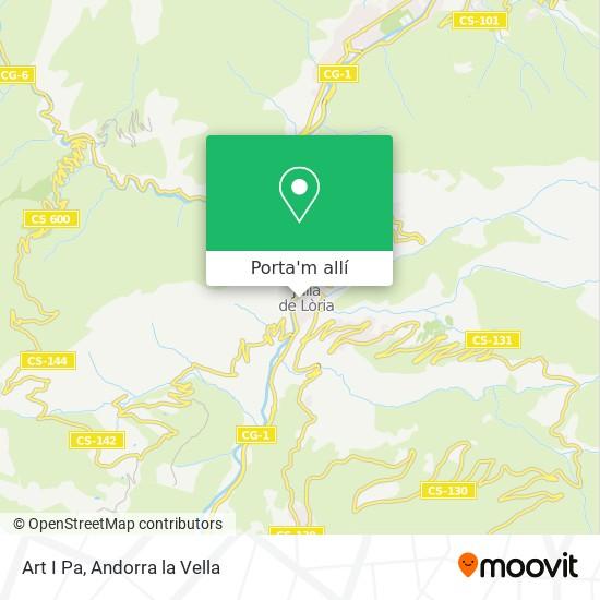 mapa Art I Pa