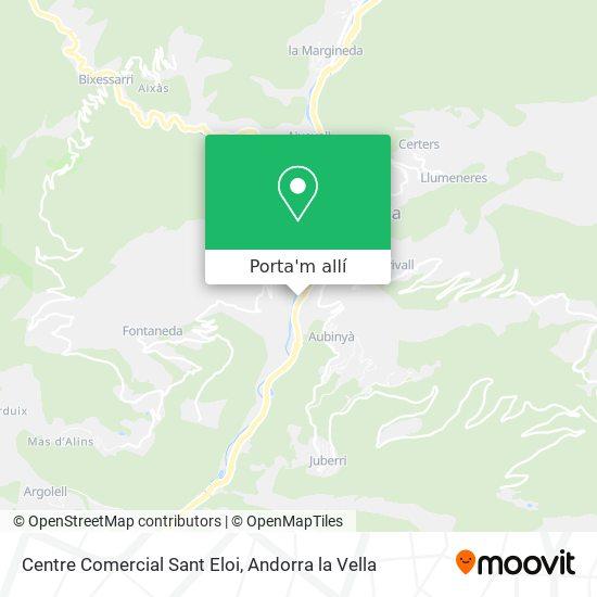 mapa Centre Comercial Sant Eloi