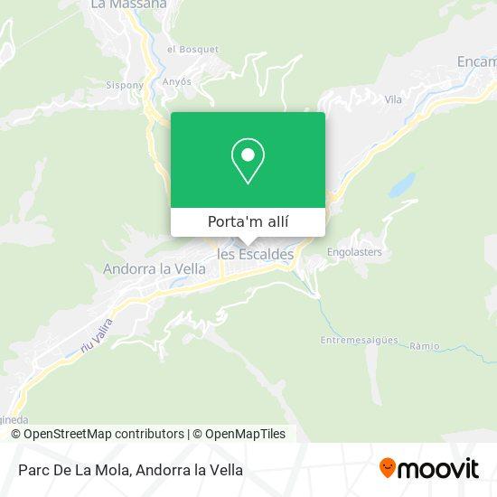 mapa Parc De La Mola