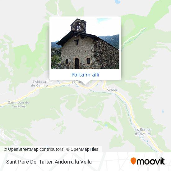 mapa Sant Pere Del Tarter