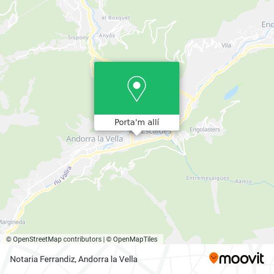 mapa Notaria Ferrandiz