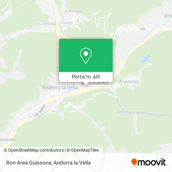 mapa Bon Area Guissona