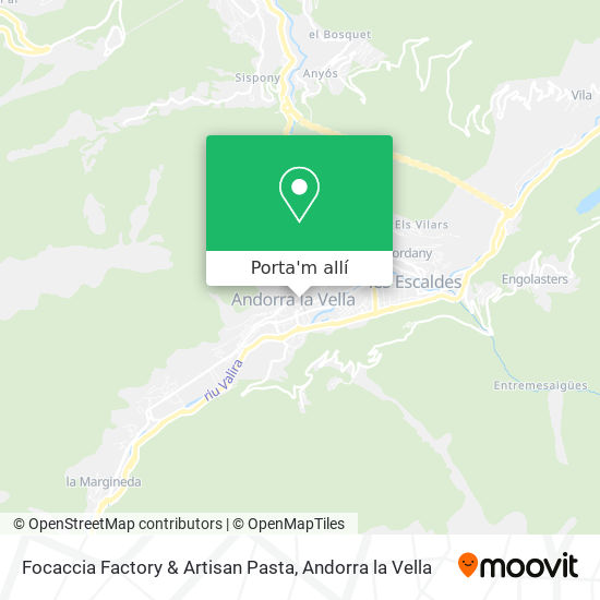 mapa Focaccia Factory & Artisan Pasta