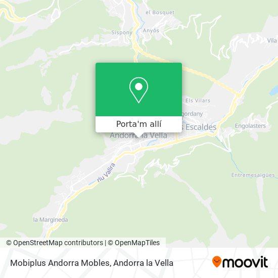 mapa Mobiplus Andorra Mobles