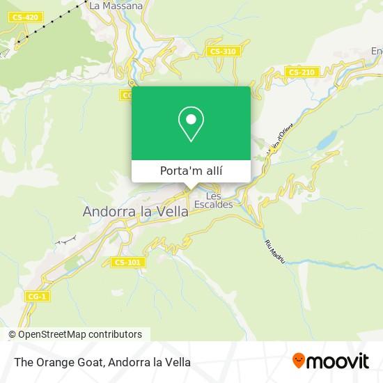 mapa The Orange Goat