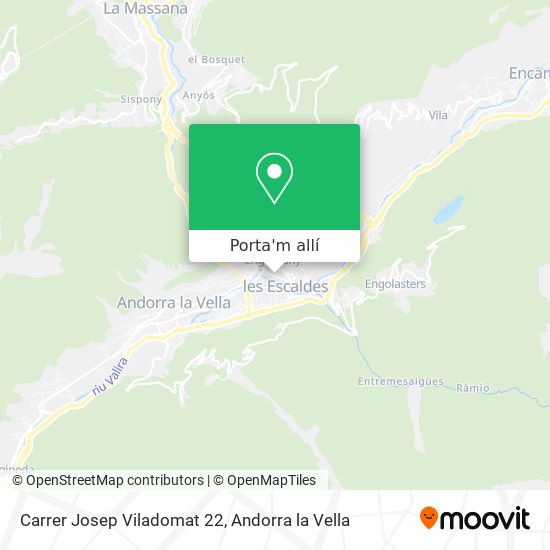 mapa Carrer Josep Viladomat 22