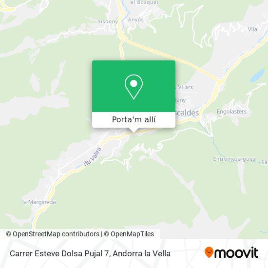 mapa Carrer Esteve Dolsa Pujal 7