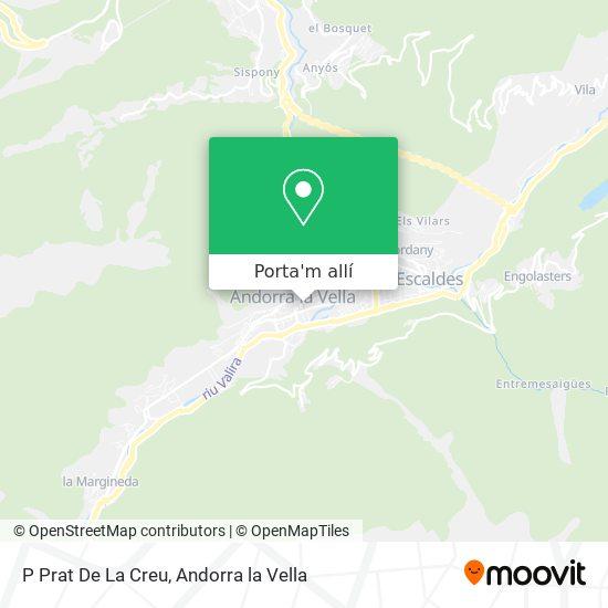 mapa P Prat De La Creu
