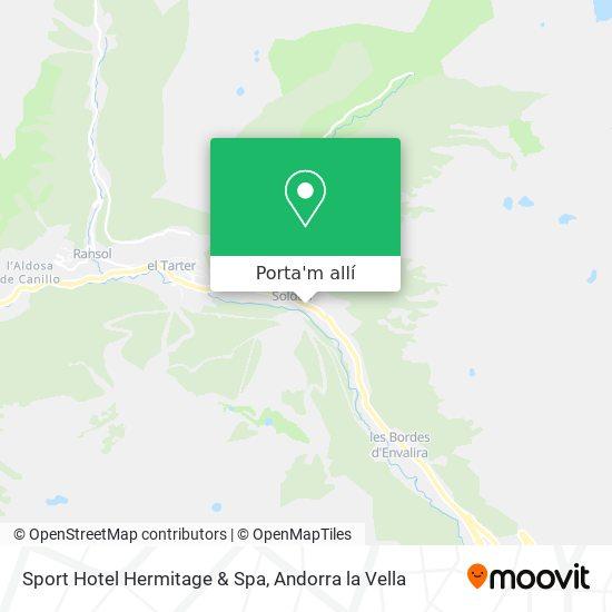 mapa Sport Hotel Hermitage & Spa