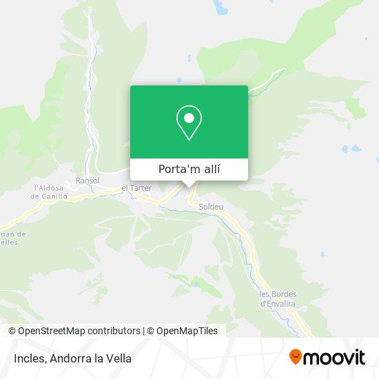 mapa Incles