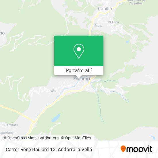 mapa Carrer René Baulard 13
