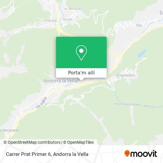 mapa Carrer Prat Primer 6