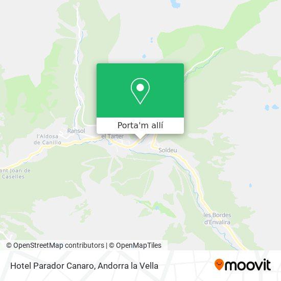 mapa Hotel Parador Canaro