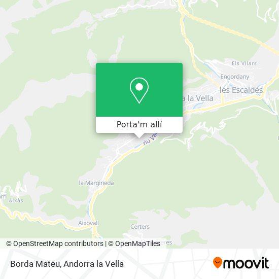 mapa Borda Mateu
