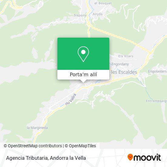 mapa Agencia Tributaria