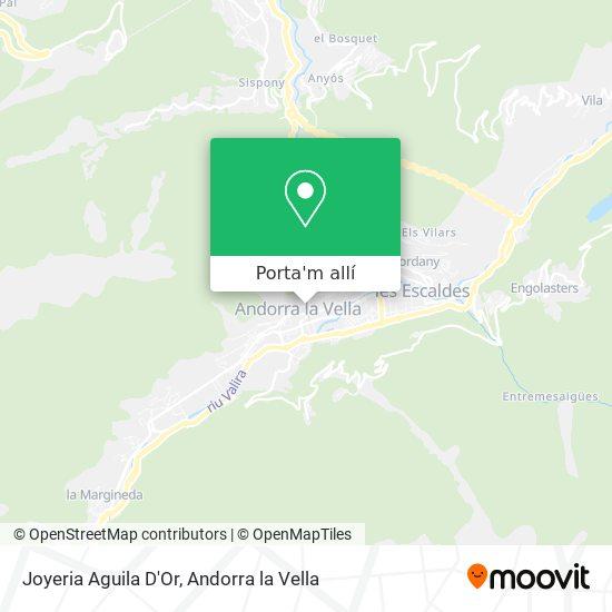 mapa Joyeria Aguila D'Or
