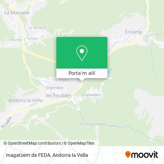 mapa magatzem de FEDA