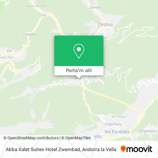 mapa Abba Xalet Suites Hotel Zwembad