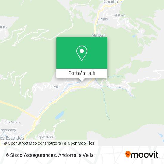 mapa 6 Sisco Assegurances