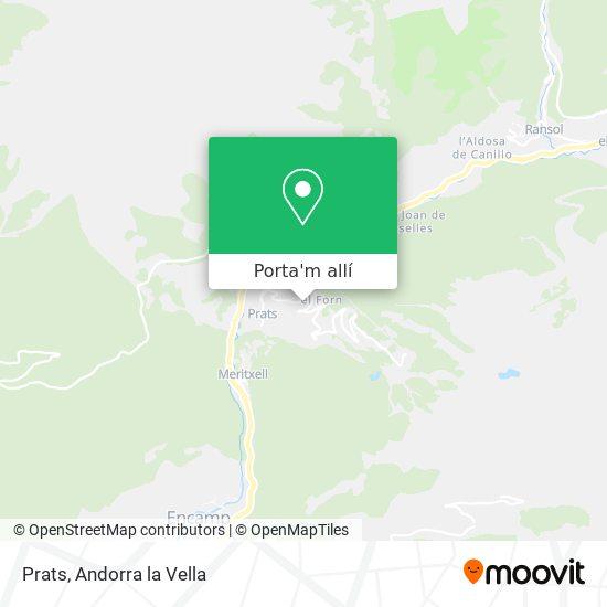 mapa Prats