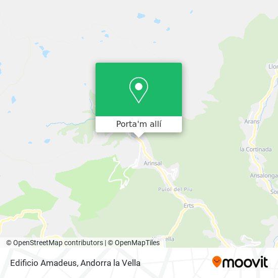 mapa Edificio Amadeus