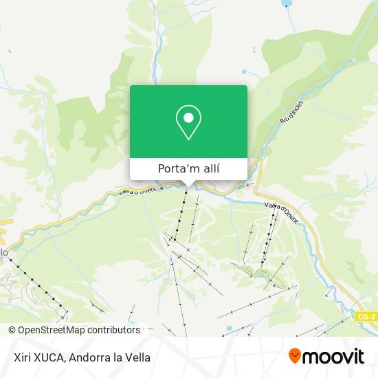 mapa Xiri XUCA