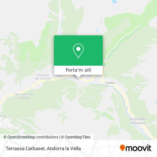 mapa Terrassa L'arbaset