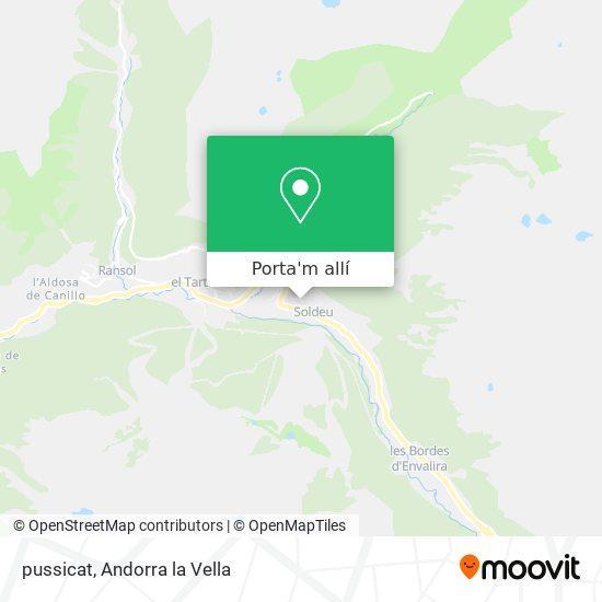 mapa pussicat