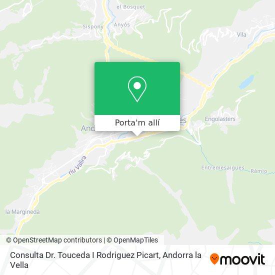 mapa Consulta Dr. Touceda I Rodriguez Picart