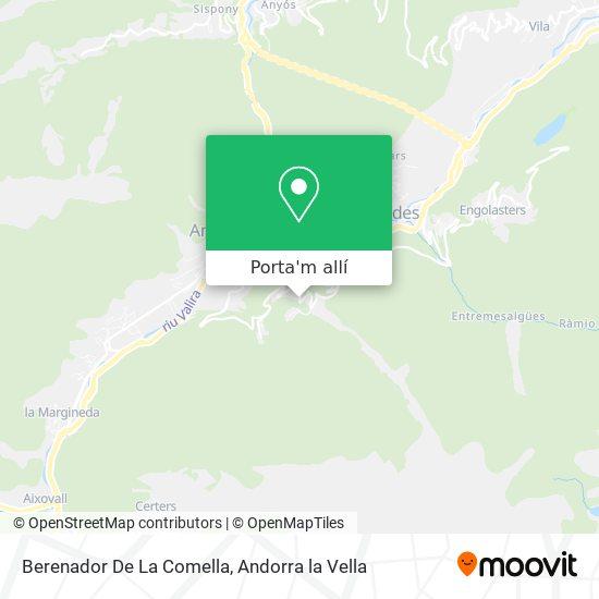 mapa Berenador De La Comella