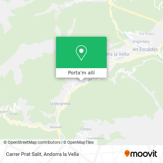 mapa Carrer Prat Salit